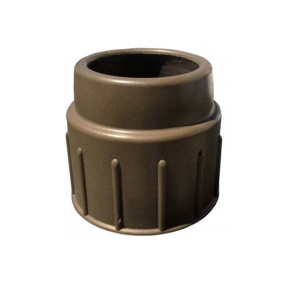Union nut with reducer socket
